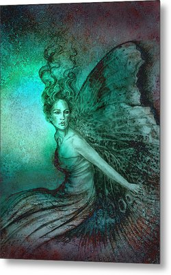 Metal Print featuring the painting Dream Fairy by Ragen Mendenhall