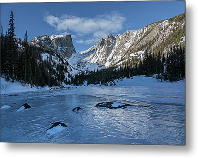 Metal Print featuring the photograph Dream Lake Morning by Aaron Spong