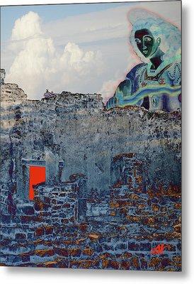 Dream Of Tulum Ruins Metal Print by Ann Tracy