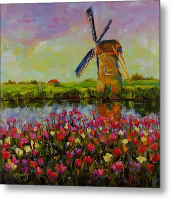 Dreaming Of Holland Metal Print by Chris Brandley