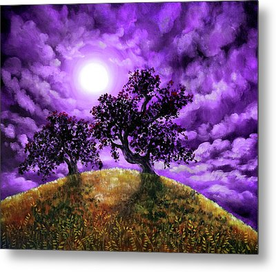 Dreaming Of Oak Trees Metal Print by Laura Iverson