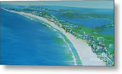 Dreaming Of Siesta Key Metal Print