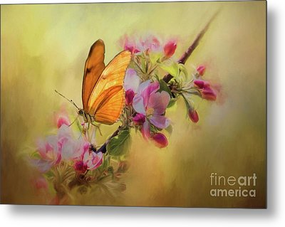 Dreaming Of Spring Metal Print by Eva Lechner