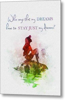 Dreams Metal Print by Rebecca Jenkins
