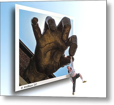 Dropout Metal Print by Brian Wallace