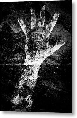 Drowning Metal Print by Venura Herath