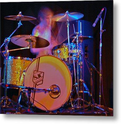 Drummer Boy Metal Print by Joy Bradley