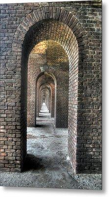 Dry Tortugas - Fort Jefferson - Doorways Metal Print