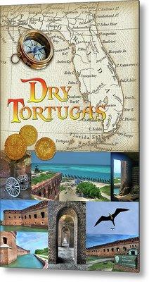 Dry Tortugas Metal Print