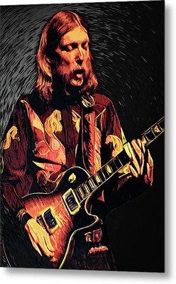 Duane Allman Metal Print