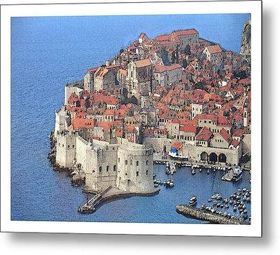 Dubrovnik  Metal Print by Fred Jinkins