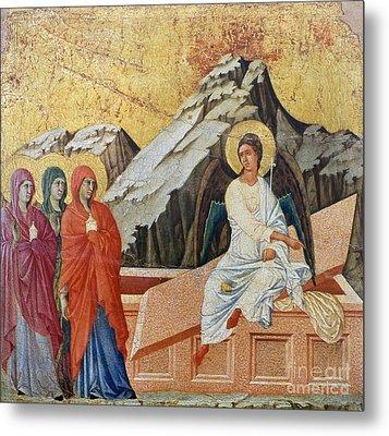 Duccio - Three Marys Metal Print by Granger