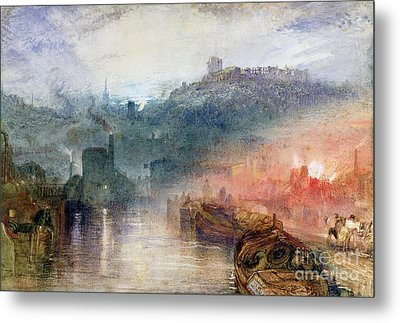 Dudley Metal Print by Joseph Mallord William Turner