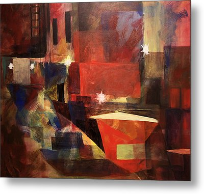 Dumpster - Sold Metal Print by Stephen Roberson