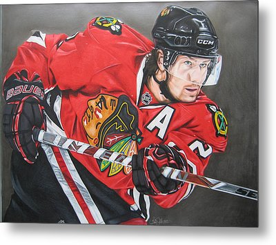 Duncan Keith Metal Print by Brian Schuster