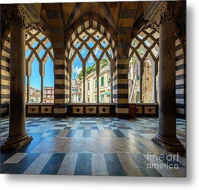 Duomo Di Amalfi Metal Print