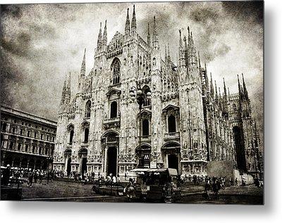 Duomo Di Milano Metal Print by Laura Melis