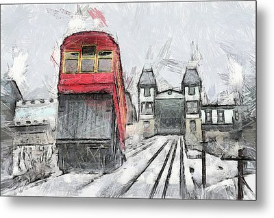 Duquesne Incline Metal Print by Matt Matthews
