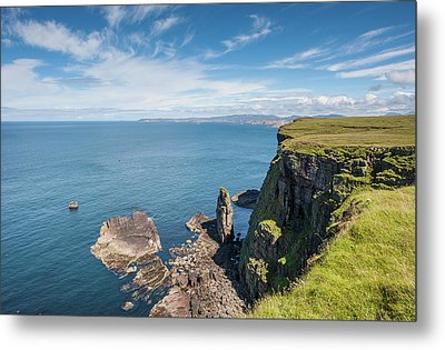 Metal Print featuring the photograph Handa Island - Sutherland by Pat Speirs