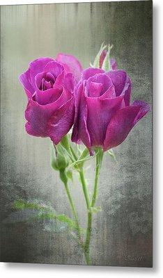 Dusty Roses Metal Print