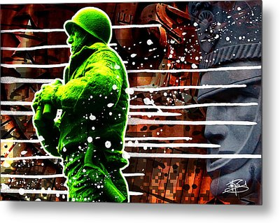 Duty Honor Country Metal Print by Michael Figueroa