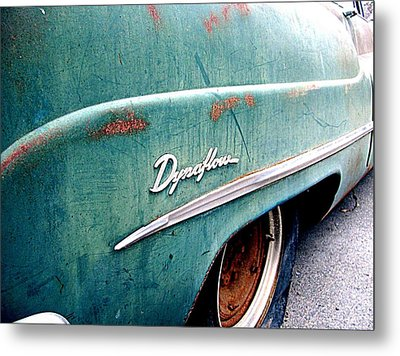 Dynaflow Blues Metal Print by Kevin D Davis