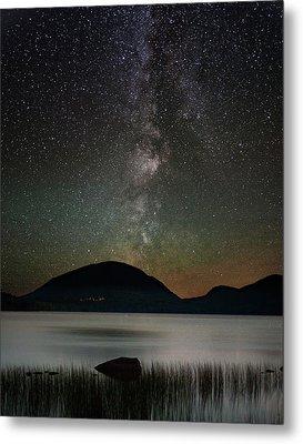 Eagle Lake And The Milky Way Metal Print