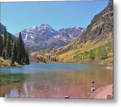 Early Autumn At The Bells Metal Print by Margaret Bobb