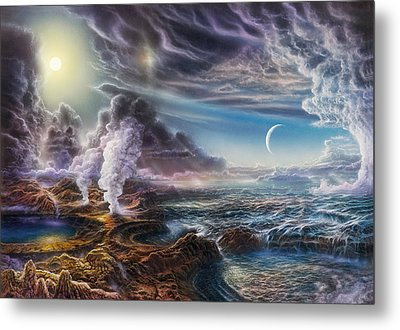 Early Earth Metal Print