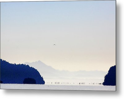 Early Morning Ala Spit Whidbey Island Metal Print