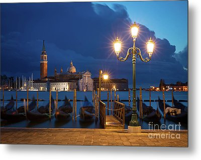 Metal Print featuring the photograph Early Morning In Venice by Brian Jannsen