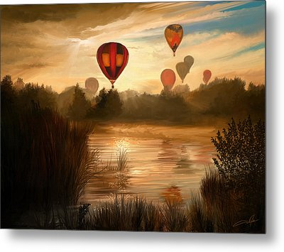 Early Morning Rise Metal Print by Dale Jackson