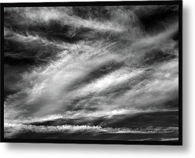 Metal Print featuring the photograph Early Morning Sky. by Terence Davis