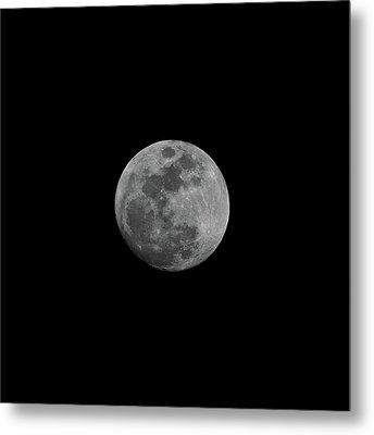 Early Spring Moon 2017 Metal Print by Jason Coward