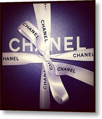 Early Xmas Present! 😍 #chanel Metal Print by Myrtali Petrocheilou