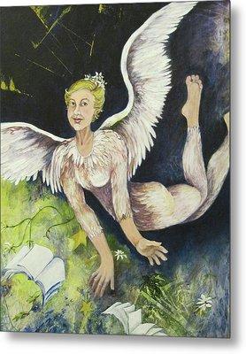 Earth Angel Metal Print by Georgia Annwell