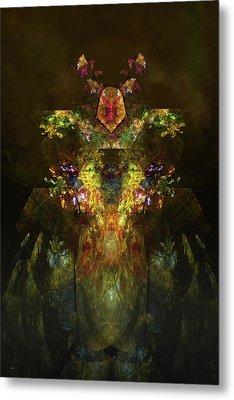 Earth Shaman Metal Print