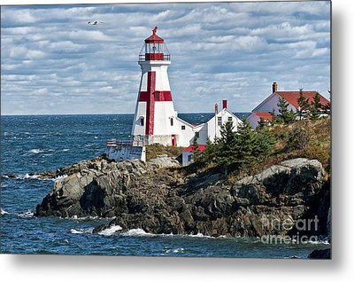 East Quoddy Lighthouse Metal Print