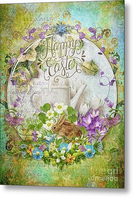 Easter Breakfast Metal Print by Mo T