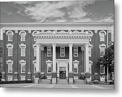 Eastern Kentucky University Building Metal Print by University Icons