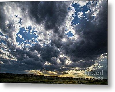Eastern Montana Sky Metal Print by Shevin Childers