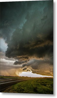 Eastern Nebraska Moderate Risk Chase Day Part 2 010 Metal Print
