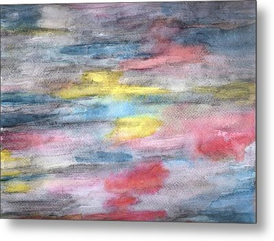 Ebony Rainbow Metal Print by Mary Zimmerman