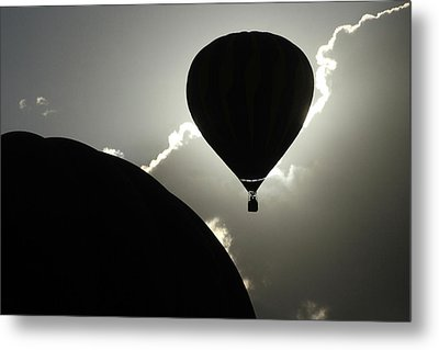 Metal Print featuring the photograph Eclipse by Marie Leslie