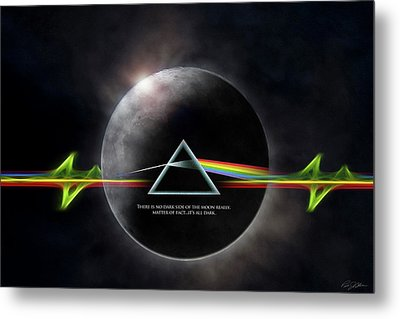 Eclipse Metal Print by Peter Chilelli