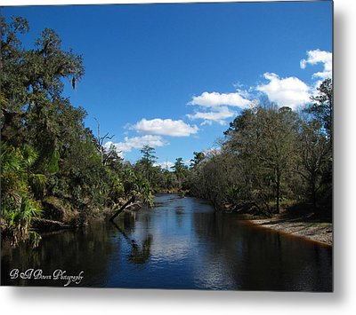 Metal Print featuring the photograph Econlockhatchee River by Barbara Bowen
