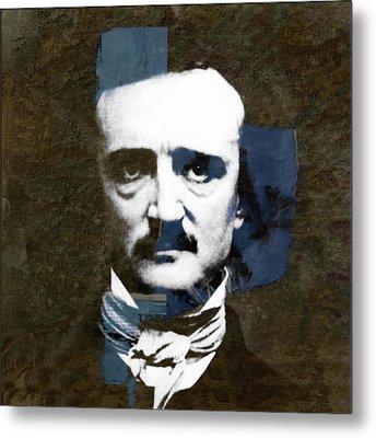 Edgar Allan Poe  Metal Print by Paul Lovering