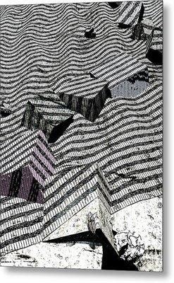 Edge Metal Print by Haruo Obana