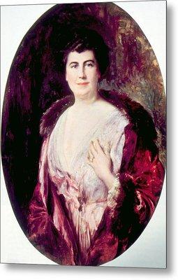 Edith Bolling Galt Wilson 1872-1961 Metal Print