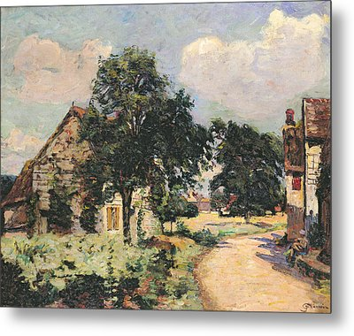 Effect Of The Sun Metal Print by Jean Baptiste Armand Guillaumin